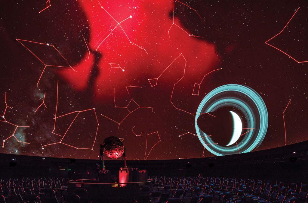 Solange das Stuttgarter Planetarium keine Besucher empfangen darf, ist es online für Weltall-Begeisterte da. (Archivbild) Foto: die arge lola/Kai Loges & Andreas Langen