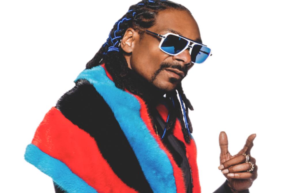 Snoop Dogg ist am Dienstag am Killesberg und im Pure Club. Foto: Veranstalter