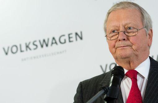Wolfgang Porsche will nicht streiten