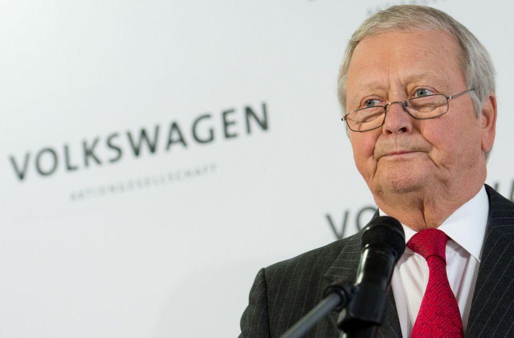 Wolfgang Porsche stand bei Volkswagen lange im Schatten seines streitlustigen Cousins Ferdinand Piëch. Das ist nun vorbei. Foto: dpa