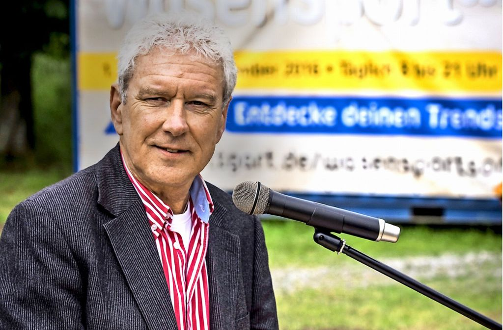 Günther Kuhnigk will den Radsport in Stuttgart wieder beleben. Foto: Lichtgut/Max Kovalenko
