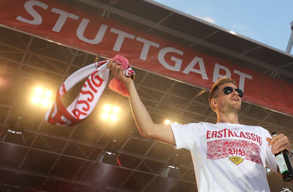 Hier sind die Sprüche, mit denen Sie auch als VfB-Laie am Montag bei der Arbeit glänzen können. Foto: Pressefoto Baumann