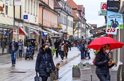 Ludwigsburger halten sich auffällig zurück