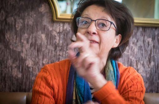 Monika Hirschle ist der Knochenkarle