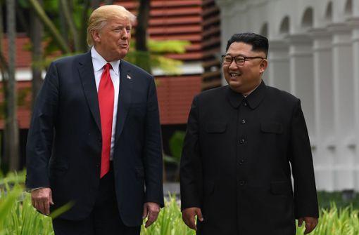 Kim Jong Un strebt zweites Treffen mit Trump an