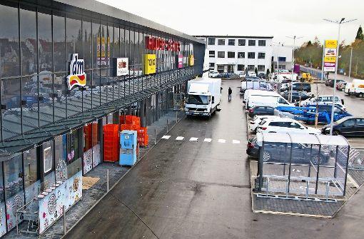 Das Filder-Center in Bernhausen eröffnet