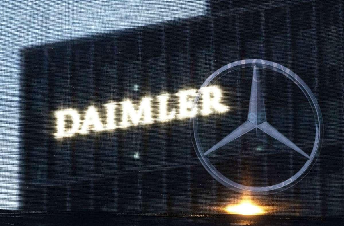 Daimler trotze im ersten Quartal der Corona-Krise. Foto: dpa/Marijan Murat