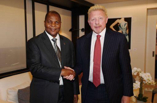 """Boris Becker: """"Es ist eine Realität, dass ich Diplomat von Zentralafrika bin"""""""