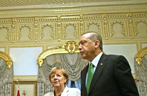 Auf  heikler Mission in Ankara