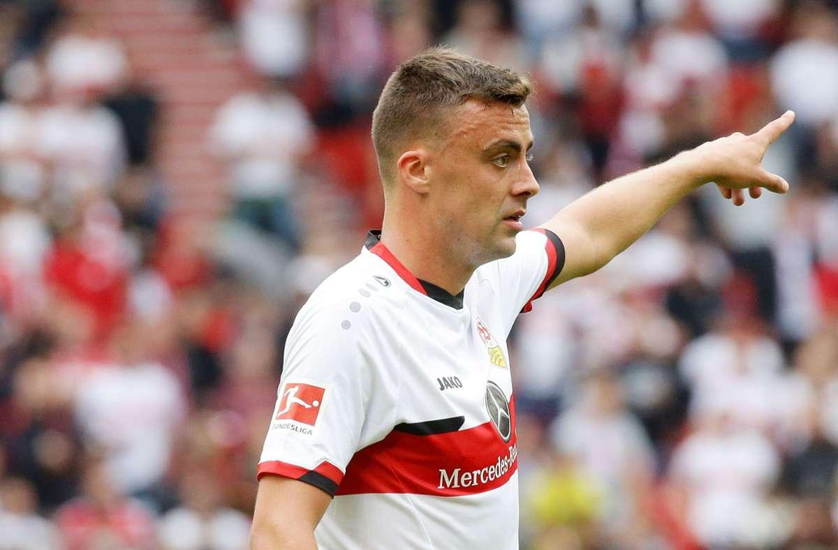 Der VfB muss am Wochenende im Spiel gegen Bayer 04 Leverkusen auf Philipp Förster verzichten. Foto: /Hansjürgen Britsch
