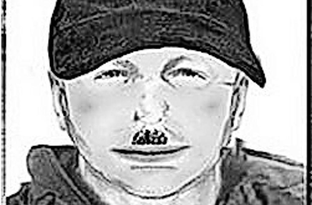 Kurz nach der Tat in Kufstein sah ein junges Paar diesen Mann in  Tatortnähe.  Doch das Phantombild ist drei Jahre alt. Foto: Polizei Tirol