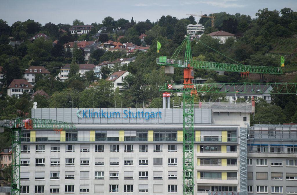 Im Zentrum des Skandals: das Klinikum Stuttgart Foto: dpa