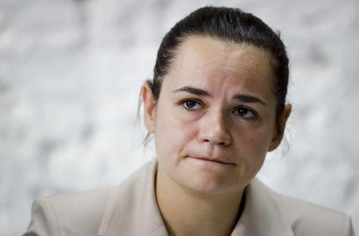 EU-Außenminister empfangen belarussische Oppositionsführerin
