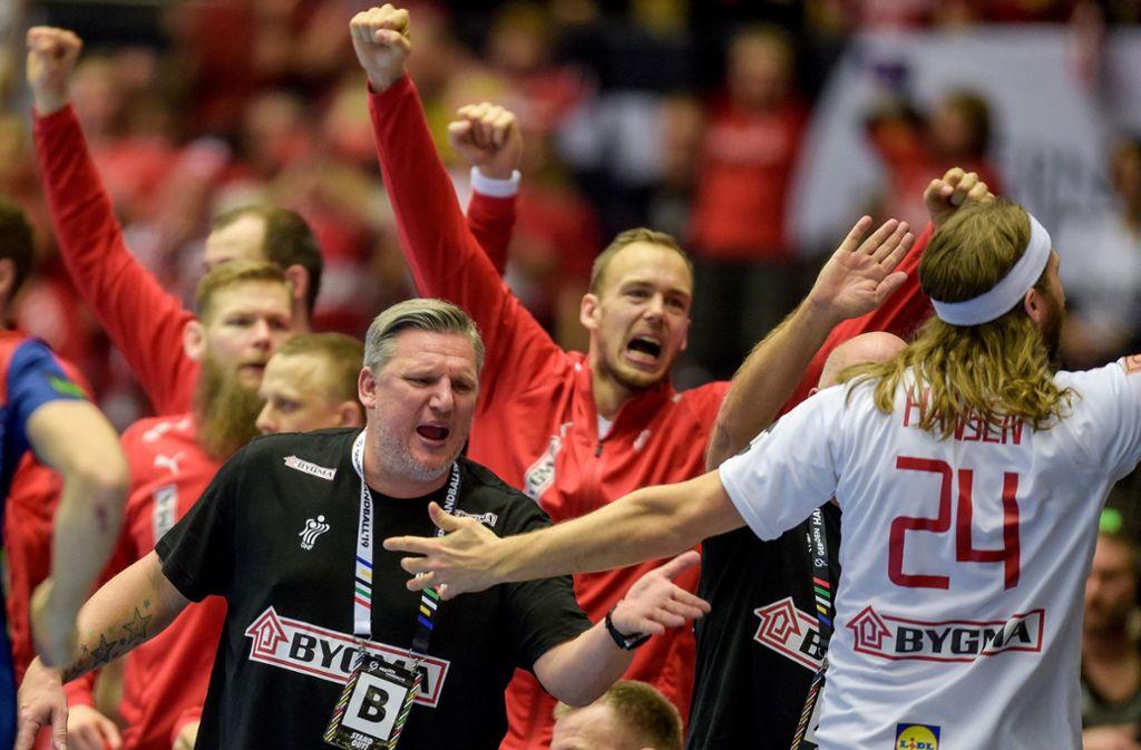Vor heimischem Publikum gewann Dänemark den WM-Titel gegen Norwegen. Foto: dpa