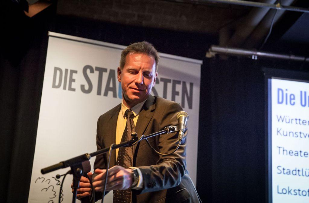Technik ist sein Beruf – und sein politisches Steckenpferd: Stadtrat Ralph Schertlen. Foto: Lichtgut/Julian Rettig