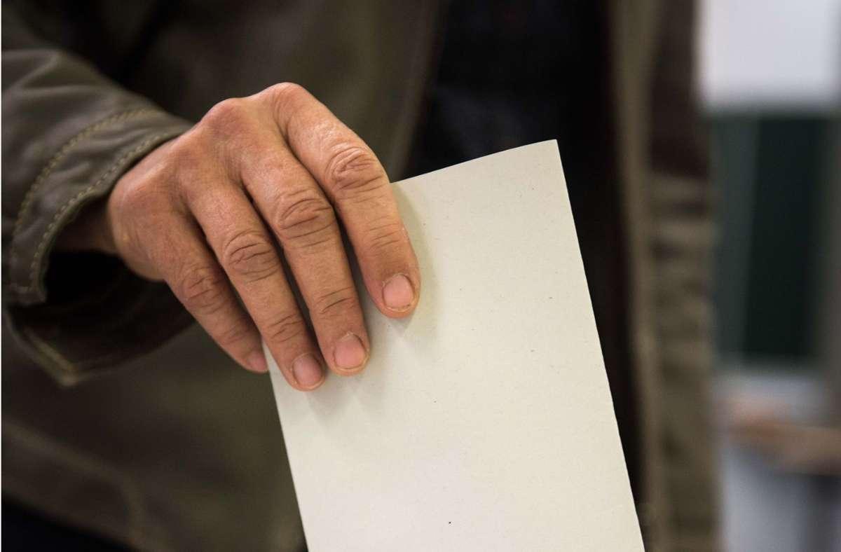 Die CDU verlor in allen Altersgruppen Stimmenanteile bei der Landtagswahl in diesem Jahr. (Symbolbild) Foto: Lichtgut/Max Kovalenko/Lichtgut/Max Kovalenko