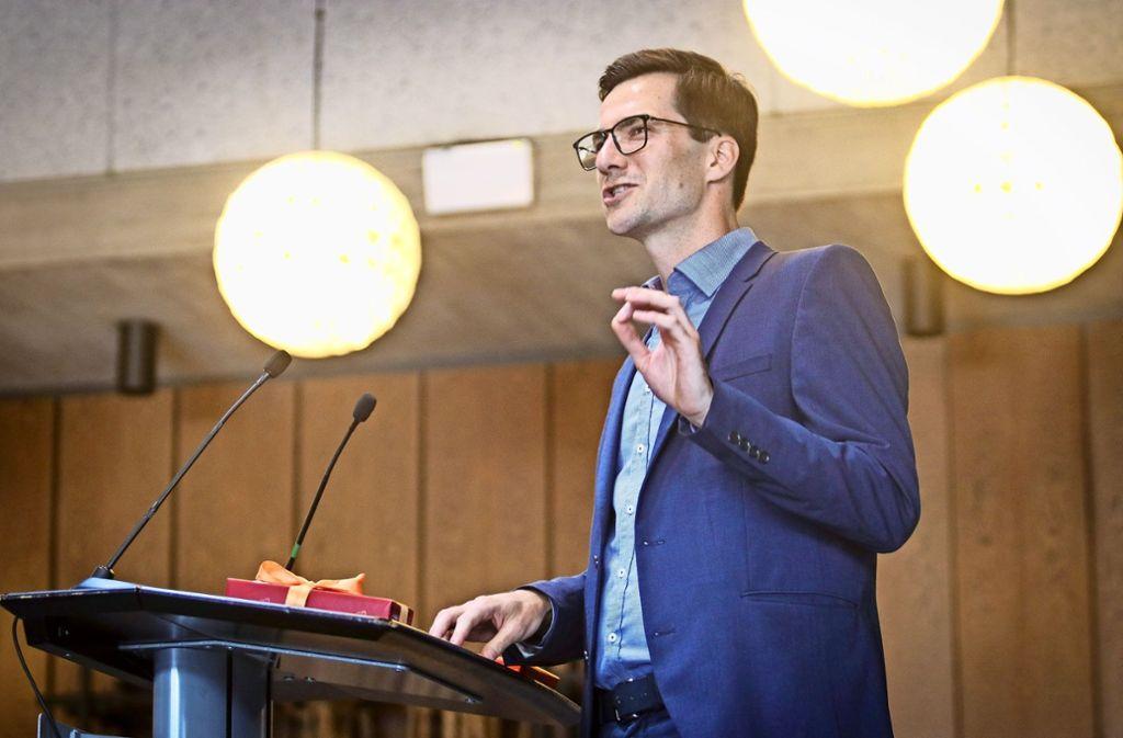 Gemeinderatssitzungen zu leiten, wird Martin Horn lernen müssen. Foto: factum/Granville