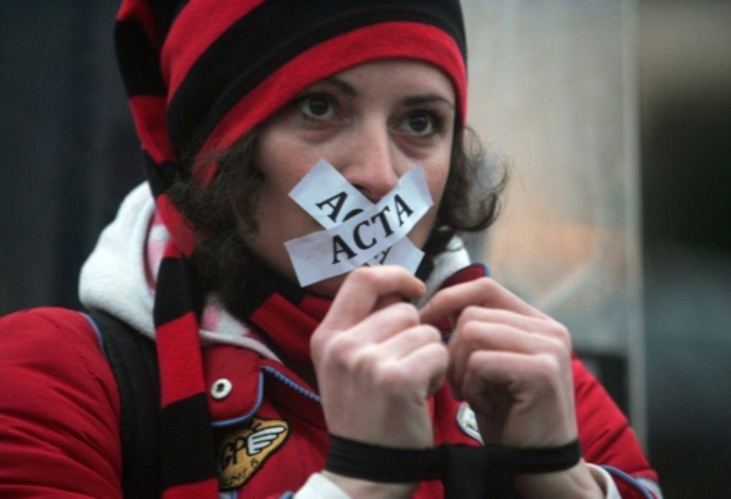 Viele Internet-Nutzer fürchten Acta – zu Unrecht, sagt die Bundesregierung. Foto: ANA-MPA