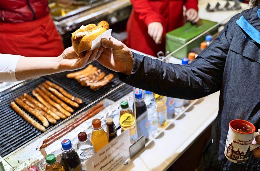 Die Bratwurst muss schmecken – egal wer sie verkauft. Foto: Lichtgut/Julia Schramm