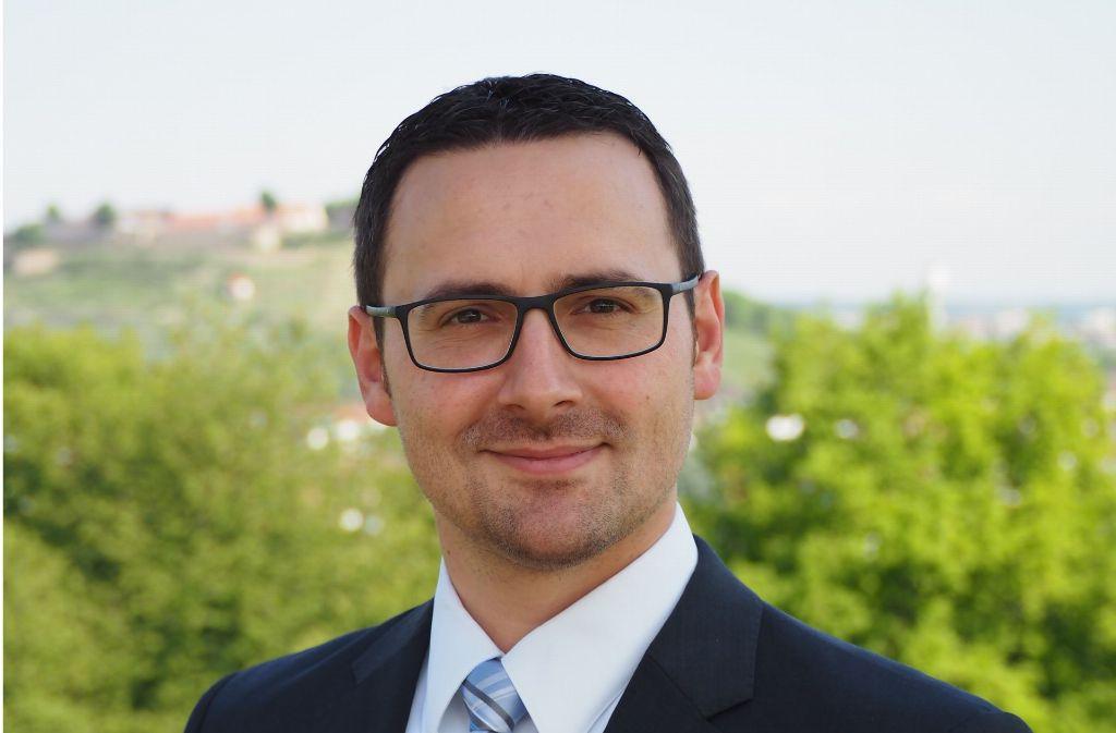 Christian Eiberger ist mit 69,1 Prozent der Stimmen zum neuen Bürgermeister von Asperg gewählt worden. Foto: privat