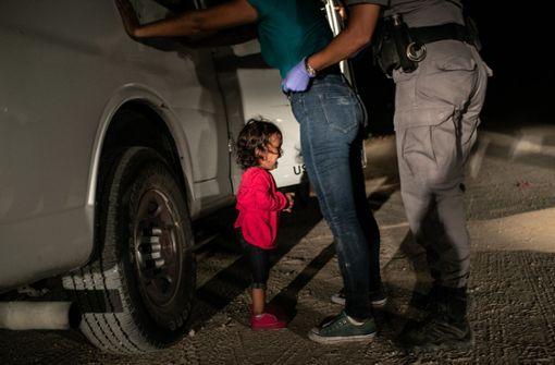 Weinendes Flüchtlingskind an US-Grenze ist Weltpresse-Foto 2018