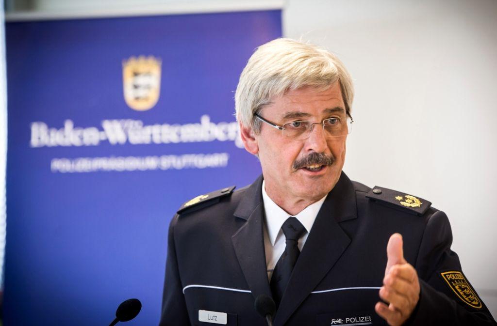 Der Polizeipräsident Franz Lutz lobt die Arbeit seiner Kripo, die sich in den zurückliegenden Jahren verstärkt der Bekämpfung des Einbruchs gewidmet hat Foto: Achim Zweygarth