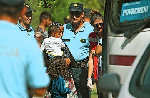 Helfer und Flüchtlinge geraten an ihre Grenzen