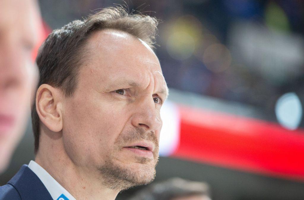 Mannheims Trainer Pavel Gross konnte zufrieden mit seiner Mannschaft sein. Foto: dpa