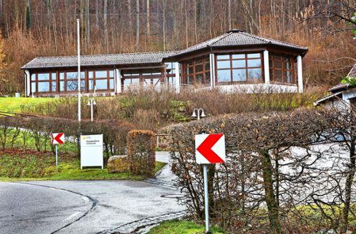 Das Schullandheim steht leer