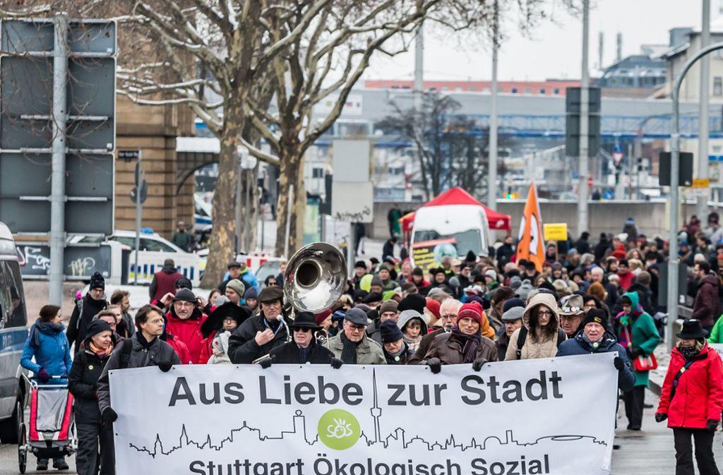 Auf der Bundesstraße 14 soll es erneut eine Demonstration geben. Foto: Lichtgut/Julian Rettig