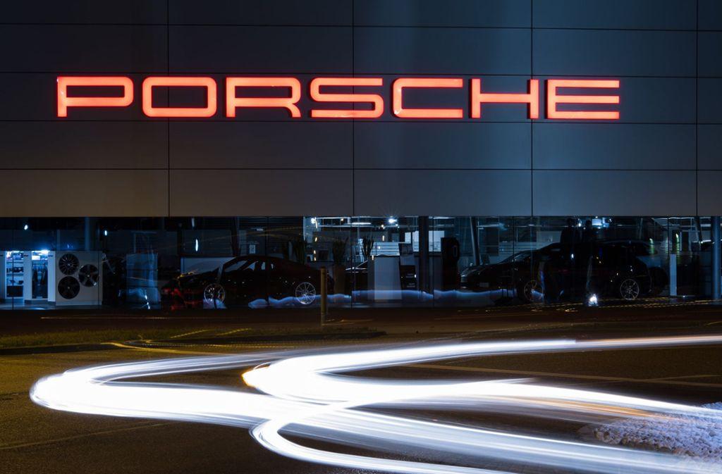 Porsche kann positive Zahlen vermelden (Symbolbild). Foto: dpa