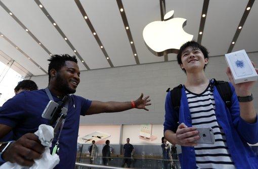 Verkaufsschlager iPhone