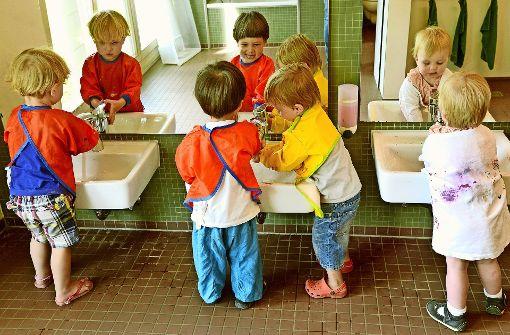 Für Kinder unter drei Jahren fehlen Plätze