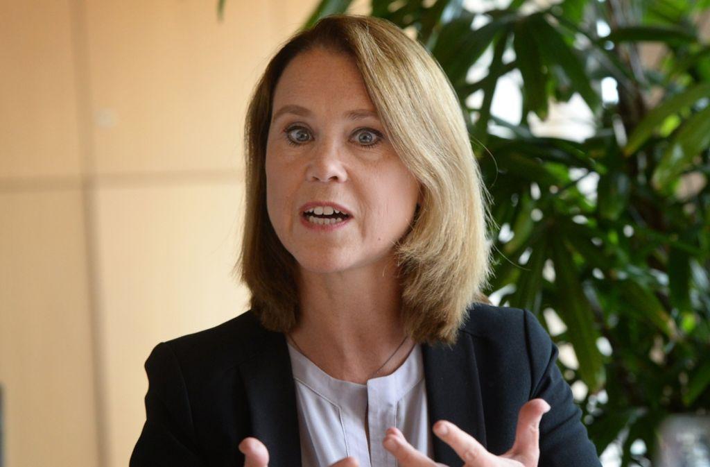 In offizieller Mission führt Petra Olschowski kein Adelsprädikat. Foto: dpa