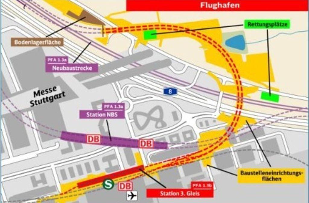 Bei einem Informationsabend im SHMT Steinbeishaus in Plieningen haben Vertreter der Bahn über die Pläne der Verkehrsdrehscheibe Filder gesprochen. Foto: DB