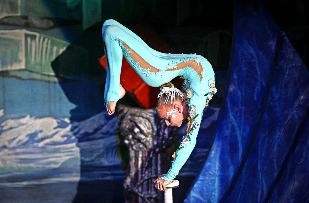 Die Künstler des Traumtheaters Salome haben die Besucher mit ihren Darbietungen in ihren Bann gezogen. Foto: factum/Bach
