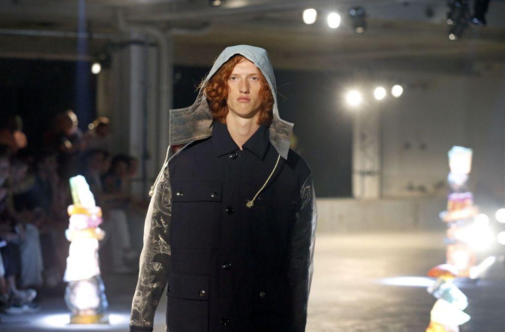 """Die schwedische Marke """"Acne Studio"""" bei der diesjährigen Fashion Week in Paris. Foto: Getty Images"""