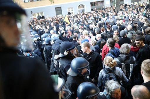 """Kreuzberger Protest weitgehend ohne Gewalt - """"großer Schritt"""""""