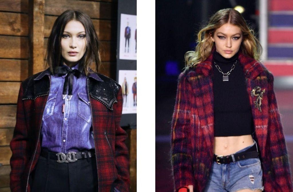 """Bella und Gigi Hadid wurden für die März-Ausgabe der """"Vogue"""" gemeinsam abgelichtet – hüllenlos. Foto: Getty Images"""