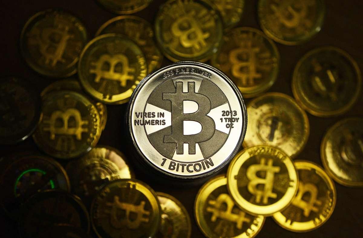 Die Hacker sollen Bitcoins im Wert von 100000 Dollar erbeutet haben. Foto: dpa/Jens Kalaene