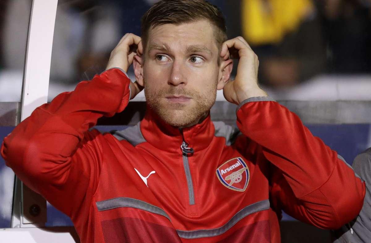 Per Mertesacker wird neuer Fußball-Experte beim ZDF. Foto: dpa/Matt Dunham