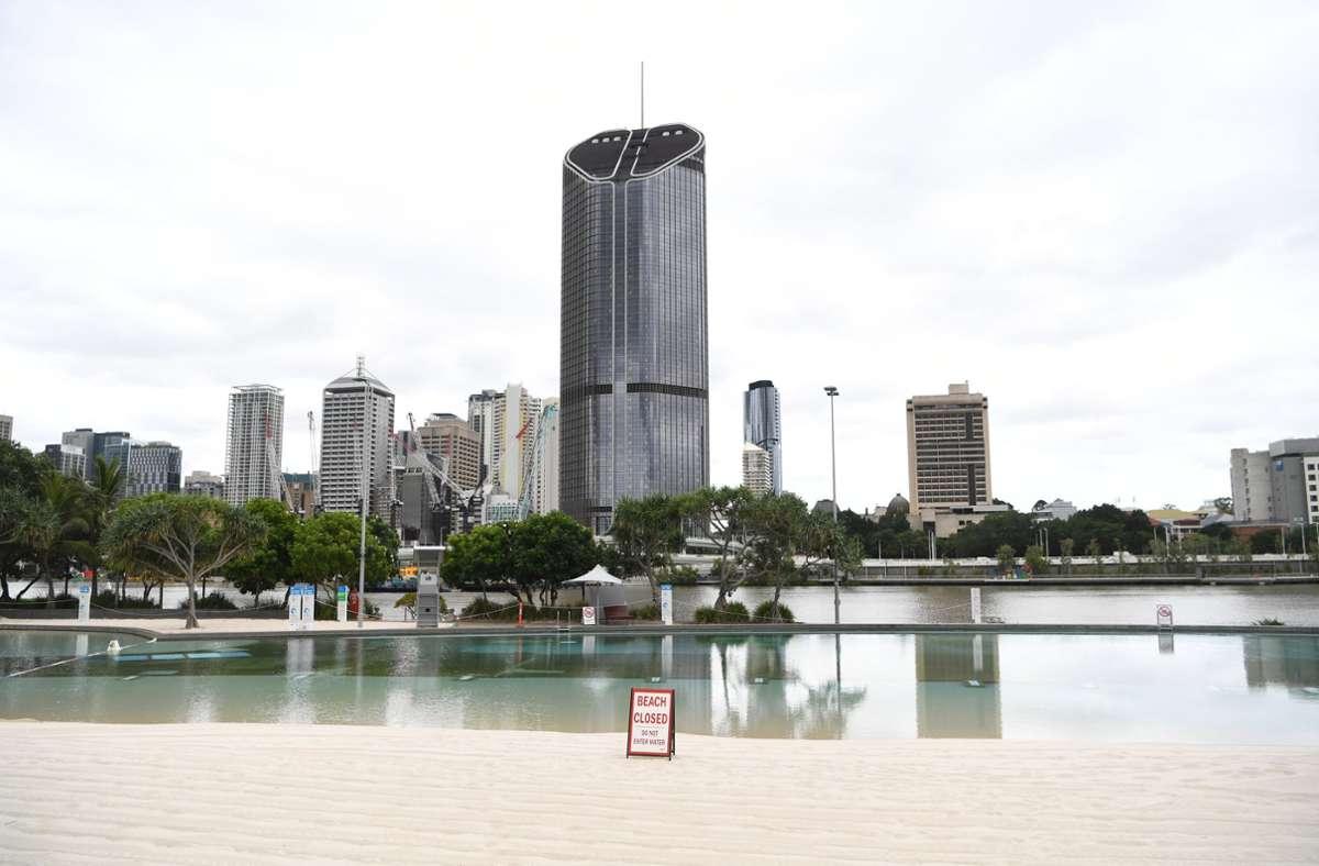 Brisbane ist Gastgeber der Olympischen Spiele 2032. Foto: dpa/Dan Peled