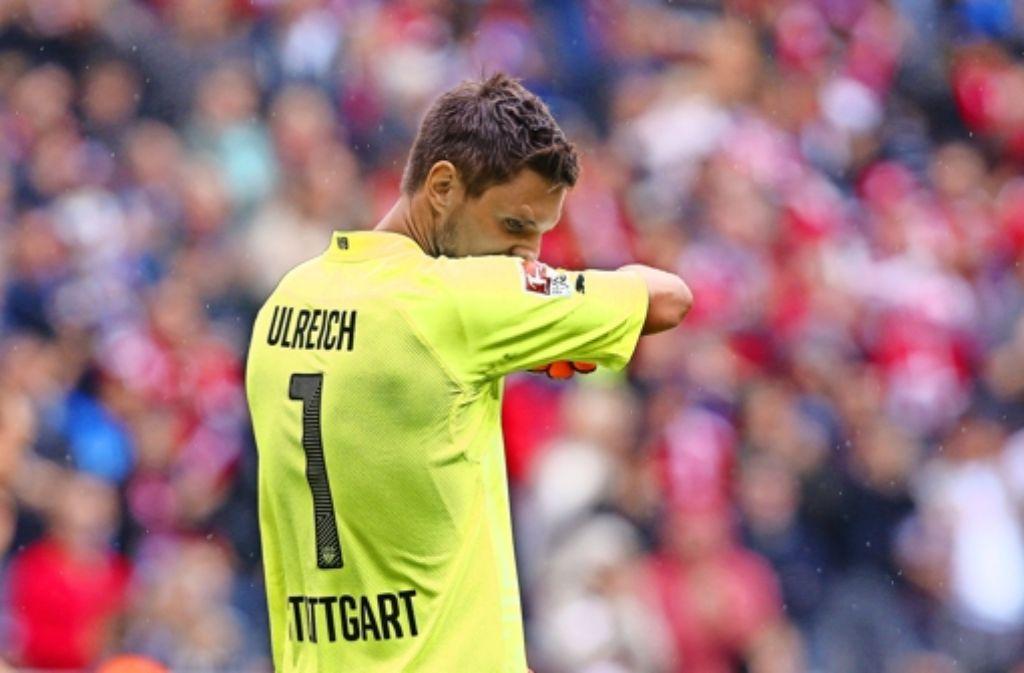 Der VfB Stuttgart versteht sich als Torhüterschmiede. Dabei gleicht die Entwicklung der in Stuttgart ausgebildeten oder eingesetzten Torhüter (so wie hier im Bild Sven Ulreich)  eher einer Achterbahnfahrt, wie die folgende Bilderstrecke zeigt Foto: