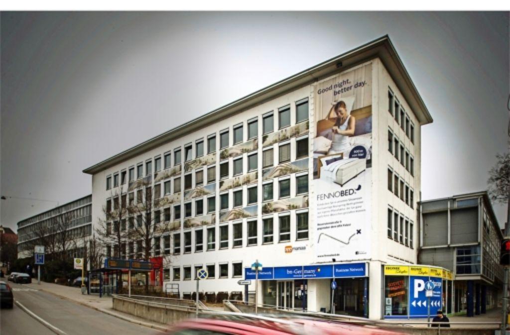 Das Gebäude an der Ecke Türlen-/Heilbronner Straße muss bis Ende September geräumt werden. Dann ist die Zwischennutzung zu Ende. Foto: Lichtgut/Achim Zweygarth