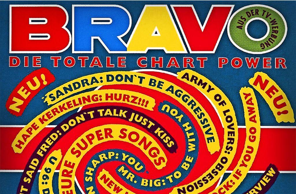 Die erste Bravo Hits kam am 21. April 1992 heraus. Besonders schöne Cover späterer Ausgaben zeigt die Fotostrecke. Foto: Bauer Verlag