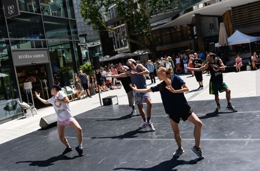 Gauthier Dance probt im Dorotheenquartier