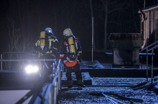 Gemeindehalle evakuiert
