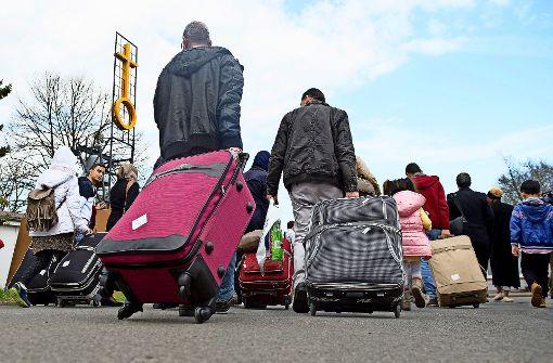 Landrat muss  Flüchtlingsquote hinnehmen
