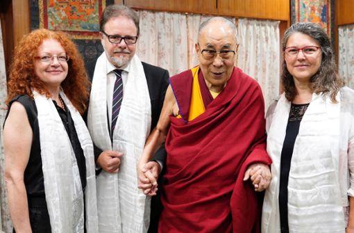 Bundestagsabgeordnete treffen den Dalai Lama
