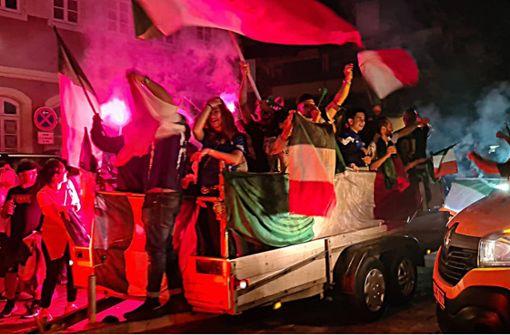 Pyros, Korsos, Fahnenmeer – Tifosi feiern EM-Sieg Italiens
